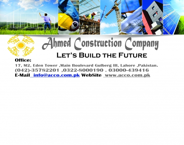 Construction in Pakistan - List of Construction Companies in