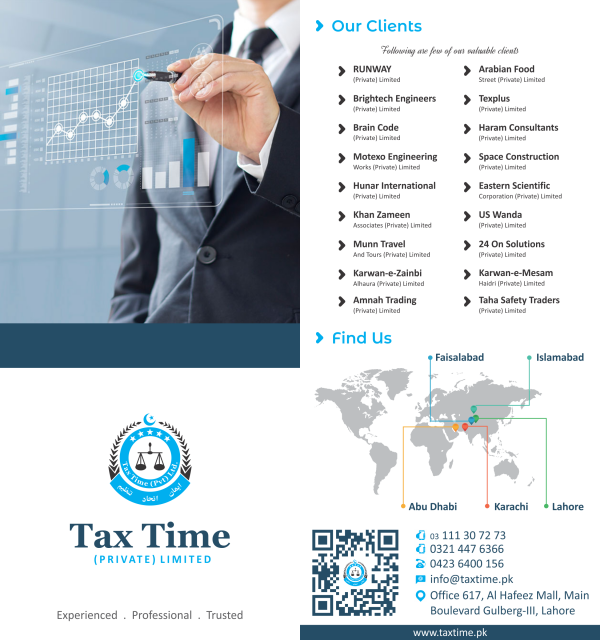 Tax Time (Pvt) Ltd  (Lahore, Pakistan) - Phone, Address