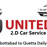 United 2D car service Abbottabad  4