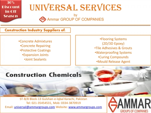 Ammar Group of Companies (Karachi, Pakistan) - Phone, Address