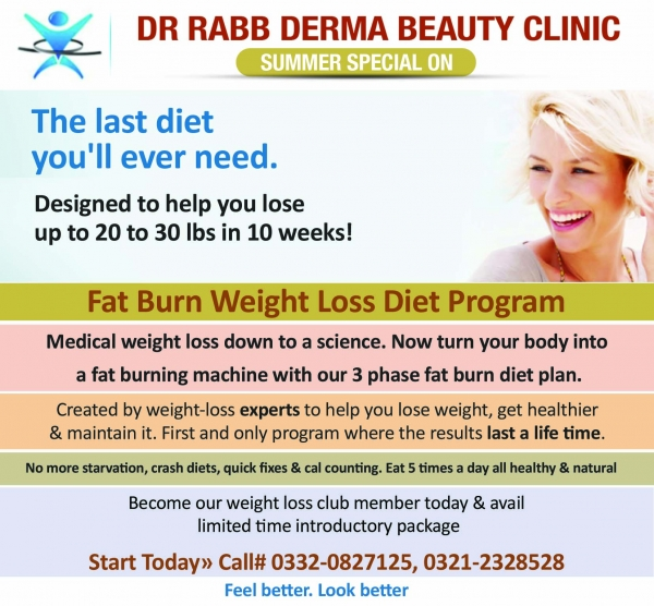 Weight loss consultant in karachi